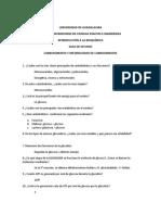 Bioquímica- Guía de Estudio