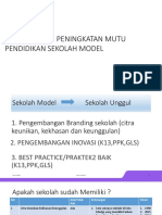 Peningkatan Mutu Sekolah Model