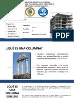 EXPOSICIÓN COLUMNAS ESBELTAS