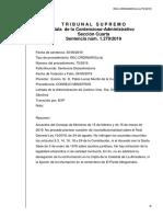 Sentencia Acuerdos Exhumación Franco