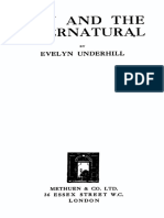 Man and the Supernatural - E. Underhill