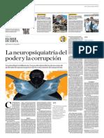 La Neuropsiquiatría Del Poder y La Corrupción