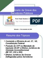2004-DIREITO DE GREVE SERVIDORES- IBDA