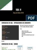 #2 - SQL
