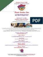 2020 extravaganza flyer