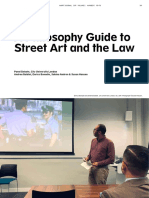 A Philosophy Guide to Street Art and the Law