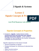 Introduction to Signals & Variables Lecture-2