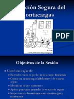 Operación Segura Del Montacargas
