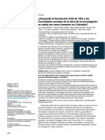 2019-Responde la Resolución 8430 de 1993 a las necesidades actuales de la ética de la investigación en salud con seres humanos en Colombia