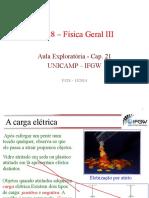 Física III - Aula exploratória 01