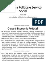 Economia Política e Serviço Social - Introdução à Disciplina e Feudalismo