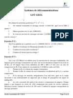 TD N°3 Systèmes de télécommunications