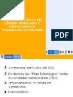Informe sobre presuntos vínculos de Maduro con el Eln