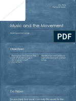 Music and the Movement