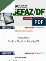 Plano de Estudos - SEFAZ DF - Alexandre Assis - Rodrigo Lima Barbosa - Rodrigo Silva