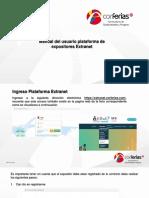 Manual Ingreso Extranet