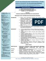 Peraturan PP PARI - Standar Kompetensi Dan Kode Etik Radiografer 8 Nop 2018