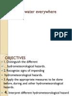 Chapter 8- Hydrometeorological Hazards