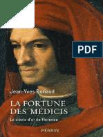 Jean-Yves Boriaud – La fortune des Médicis