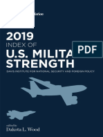 2019 Index of Military Strength