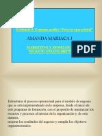 Evidencia 8- Esquema gráfico - Proceso operacional