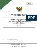 Lhp Ta 2017 Lkpd Kota Langsa