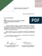 Proyecto de Ley Que Modifica El Art8 de La Ley Organica Del TC