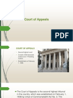 Court of Appeals in the Phil. D.I