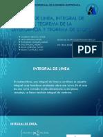 Integral de Linea,De Superficie,Teorema de Divergencia y Stokes