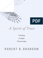 Brandom, Robert - A Spirit of Trust _ a Reading of Hegel's Phenomenology