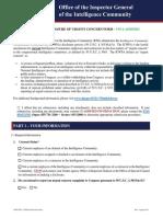 2019 Urgent Concern Disclosure Form