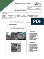 Informe de Desmontaje de Motor y Componentes Motor Abierto