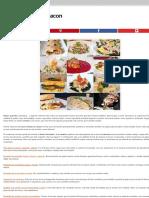 Doce recetas con bacon   Gastronomía & Cía