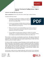 Blog OM TY Captive-Audience-Doctrine December-2013