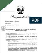 Proyecto de Ley TC