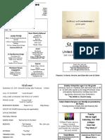 St Andrews Bulletin 092919