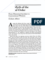 The Myth of the Liberal Order - Graham Allison [FA]