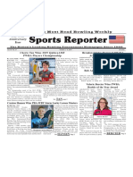 October 2 - 8, 2019  Sports Reporter