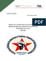 Proyecto Contratacion Colectiva 2019-2020 Sinbsutraine