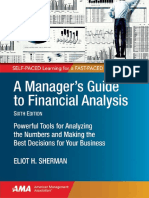 A Manager's Guide to Financial Analysis 6e
