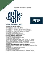 ASTM General Index