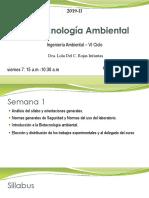 1era Clase Biotecnología Ambiental-2019