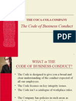 Code of Business Conduct - Coke Plants