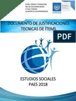 Documento de justificación Estudios Sociales  2018.pdf
