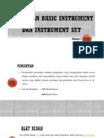 Persiapan Basic Instrument Dan Instrument Set