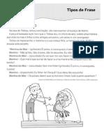 1. Tipos de Frase