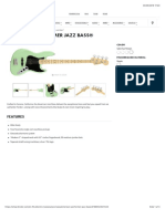 American Performer Jazz Bass® | Electric Basses