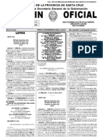 BOLETIN OFICIAL 4443. 11nov10. publicacion Ley 3166 Registro Huellas Geneticas