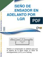 DISEÑO DE COMPENSADOR EN ADELANTO POR LGR.pptx