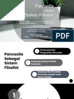UIN - Pancasila - 4. Pancasila Sistem Filsafat